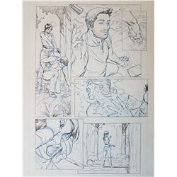 Uncharted 3 Original Art, Comic Book #2 Page 3