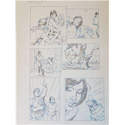 Uncharted 3 Original Art, Comic Book #2 Page 11