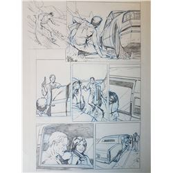 Uncharted 3 Original Art, Comic Book #2 Page 14