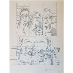 Uncharted 3 Original Art, Comic Book #3 Page 3