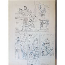 Uncharted 3 Original Art, Comic Book #3 Page 11
