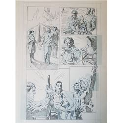 Uncharted 3 Original Art, Comic Book #4 Page 3
