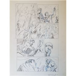 Uncharted 3 Original Art, Comic Book #4 Page 5