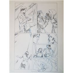 Uncharted 3 Original Art, Comic Book #4 Page 6