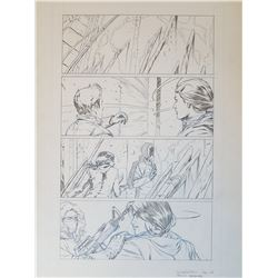 Uncharted 3 Original Art, Comic Book #4 Page 27