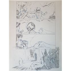 Uncharted 3 Original Art, Comic Book #4 Page 10