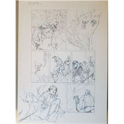 Uncharted 3 Original Art, Comic Book #4 Page 11