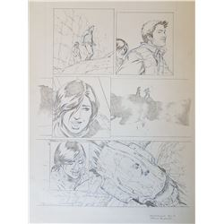 Uncharted 3 Original Art, Comic Book #4 Page 14