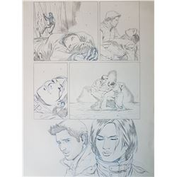 Uncharted 3 Original Art, Comic Book #4 Page 18