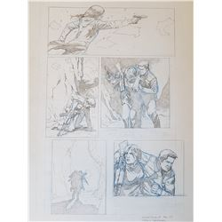 Uncharted 3 Original Art, Comic Book #5 Page 3