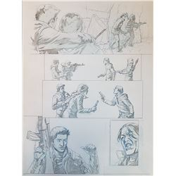 Uncharted 3 Original Art, Comic Book #5 Page 4