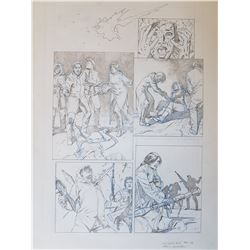Uncharted 3 Original Art, Comic Book #5 Page 6