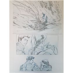 Uncharted 3 Original Art, Comic Book #5 Page 10