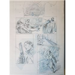 Uncharted 3 Original Art, Comic Book #5 Page 13