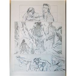 Uncharted 3 Original Art, Comic Book #6 Page 4