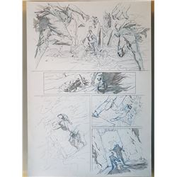 Uncharted 3 Original Art, Comic Book #6 Page 6