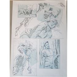 Uncharted 3 Original Art, Comic Book #6 Page 8
