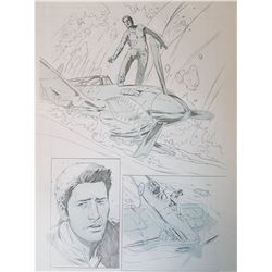 Uncharted 3 Original Art, Comic Book #6 Page 10