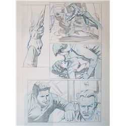 Uncharted 3 Original Art, Comic Book #6 Page 13