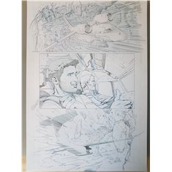 Uncharted 3 Original Art, Comic Book #6 Page 14