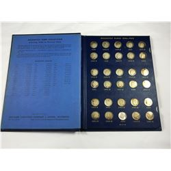 Deluxe Album of Rossevelt Silver Dimes - Total 48 Silver Dime Coins