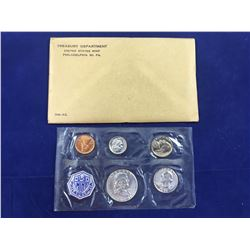1958 US Proof Coin Set (In Original Packaging) Includes Silver Half Dollar, Silver Quarter & Silver