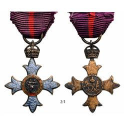 The Most Honorable Order of The British Empire Medal For Commanders or Officers Cross for Men, 2nd T