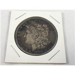1890 US Silver Morgan Dollar Coin