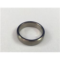 New Men's Titanium Wedding Band - Inside Diameter 18.50mm - Weight 2.98 Grams