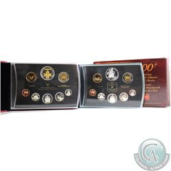 2004 & 2006 Canada Proof Double Dollar Sets. Please note coins may be lightly toned. 2pcs.