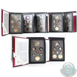 1990, 1991, 1992, 1993, 1994, 1996, & 1997 Canada Proof Double Dollar Sets. Please note coins may be