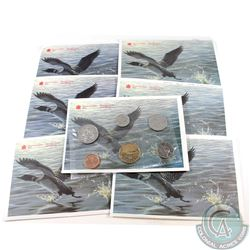1990-1998 Canada Proof Like Sets. You will receive the following dates: 1990, 1992, 1993, 1994, 1996
