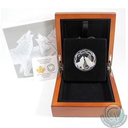 2017 Canada $20 Master of the Land - The Timber Wolf Fine Silver (Tax Exempt)