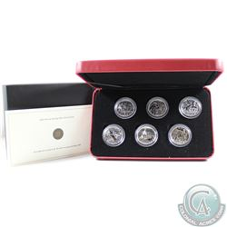 2005 Canada 50-cent Battle of Britain 6-coin Proof Sterling Silver Coin Set