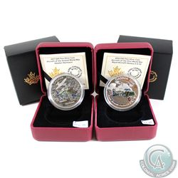 2016 & 2017 Canada $20 Aircraft of WWI Series Fine Silver Coins (Tax Exempt). You will receive the 2