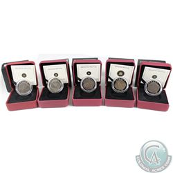 2007-2010 Canada $4 Dinosaur Fine Silver Coin Collection (Tax Exempt). You will receive the 2007 Par