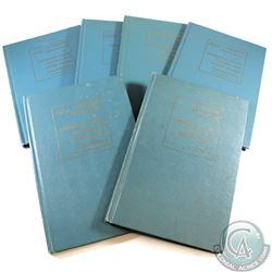 1960, 1964, 1965, 1966, 1968, & 1969 Standard Catalogue of Canadian Coins, Tokens & Paper Money Book