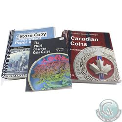 Lot of Charlton Catalogues. This lot includes the 2008 Charlton Coin Guide, 2008 Canadian Coins 62nd
