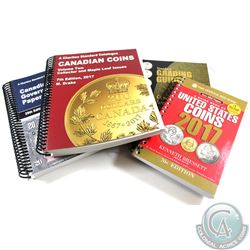Lot of 2017 Coin and Paper Money Catalogues. This lot includes the Standard Grading Guide - Revised