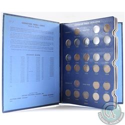 Estate Lot of Canadian Small Cent Coin Collection in Blue Whitman Folder. You will receive each date