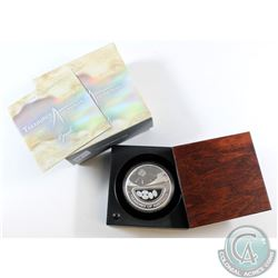 2008 Australia $1 Treasures 'Opals' 1oz Fine Silver Coin (Tax Exempt). Please note the capsule has a