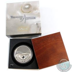 2011 Australia $1 Treasures 'Pearls' 1oz Fine Silver Coin (Tax Exempt)
