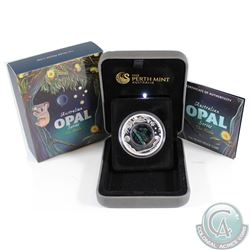 2012 Australia $1 Opal Series the Koala Fine Silver Proof Coin.  TAX Exempt