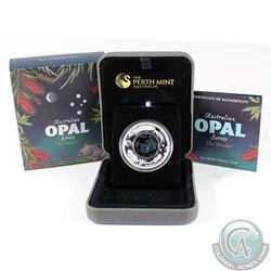 2012 Australia $1 Opal Series the Wombat Fine Silver Proof Coin (capsule lightly scuffed) TAX Exempt