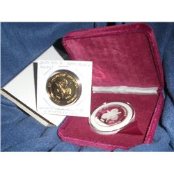 Numismatic Club Lot of 2:  ONA 2012 50th Anniversary Medal .999 Fine Silver 1 troy ounce, mintage 50