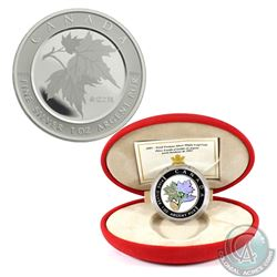 2003 Canada $5 Maple of Good Fortune & 2005 Canada $5 Maple of Hope Fine Silver Coins (Tax Exempt).