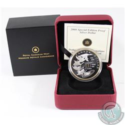 2008 Canada $1 Royal Canadian Mint Centennial Special Edition Proof Sterling Silver Coin