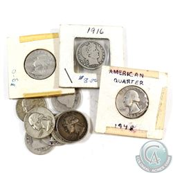 Estate Lot of 1854-1959 United States 25-cent Collection. You will receive the following dates: 1854