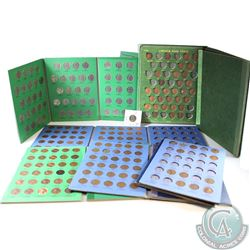 Estate Lot of United States 1-cent & 5-cent coins in display Folders. You will receive 423x 1904-200
