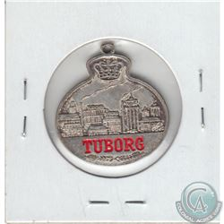 Vintage Tuborg Brewing Company Medal (Mounted)